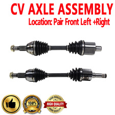 FRONT LEFT & RIGHT CV Axle Shaft For CHEVROLET EQUINOX 2005-2006