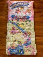 Vintage 1986 My Little Pony Sleeping Bag Hasbro Original Slumber Sack Blanket