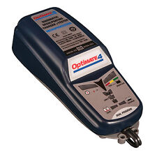 Optimate 4 Dual 12V Motorcycle Motorbike Battery Charger BMW CAN-BUS Ready