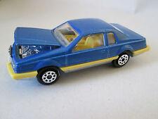 1980 Majorette Blue Ford Thunderbird T-Bird Car #217 1/67 France (Mint)