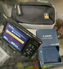 Canon PowerShot Digital ELPH SD1400 IS 14.1MP Digital Camera Black w/Case
