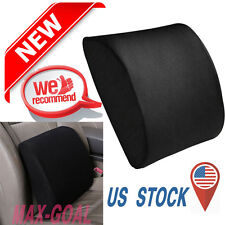 Memory Foam Seat Cushion Lumbar Back Support Pillow for Office Home Chair Car MG