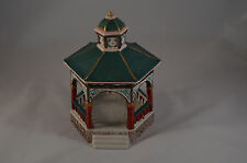 1993 Lemax Dickensvale Collectibles Porcelain New Gazebo No. 33096 with Box