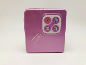 MD1238 Excellent  Panasonic PORTABLE MD PLAYER SJ-MJ10  Pink