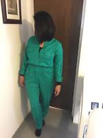 Women Casual Long sleeves Body con Romper Jumpsuit Bodysuit Long Pants Fashion