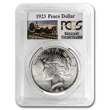 1923 Stage Coach Silver Dollar BU PCGS - SKU #37435