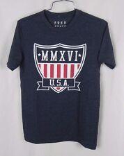 NEW Aeropostale Free State Men's Blue U.S.A Graphic T-Shirt Size XS (F1-24)