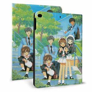 Cardcaptor Sakura Auto Wake/Sleep Smart Stand Case for iPad Air 1/2/3 7th 8 Mini