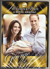 WILLIAM & KATE - A ROYAL ARRIVAL - PRINCE GEORGE OF CAMBRIDGE -NEW SEALED R2 DVD