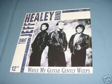 """JEFF HEALEY BAND My Guitar Gently Weeps 12"""" Record 1990"""