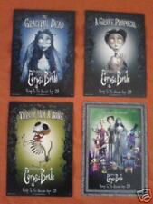 CORPSE BRIDE Collector's Postcards (Set of 4)