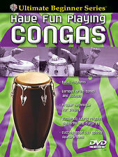 Learn How To Play Have Fun Playing Congas Beginner DVD