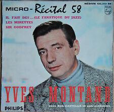 """YVES MONTANT """"MICRO RECITAL 58"""""""