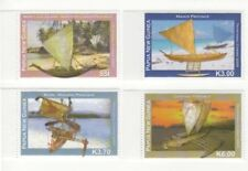 Papua New Guinea 2009 - Canoes Set of 4 Stamps MNH