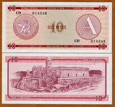 Foreign Exchange Certificate, 10, (1985), FX4  UNC
