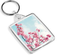 Cherry Blossom Tree Keyring Pink Flower Japan Sakura Pretty Keyring Gift #8793