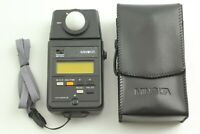 [Mint in Case] Minolta Auto Meter III Digital Light Meter w/ strap from JAPAN