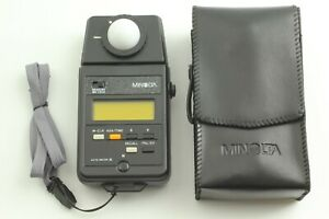 [Mint in Case] Minolta Auto Meter III Digital Light Meter w/ strap from JAPAN
