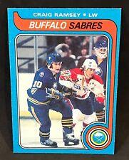 1979-80 TOPPS HOCKEY CRAIG RAMSAY CARD #207 BUFFALO SABRES NMT-NMT/MT