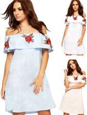 Vestidos de mujer Mini con algodón