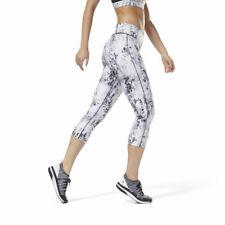 Reebok Women's LES MILLS™ All-Over Print Tight 3/4 Training Capri DJ2191