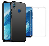 For Huawei Honor 8X Max Case Ultra Slim Hard Back Cover & Glass Screen Protector