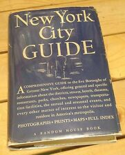 NEW YORK CITY GUIDE 1939 WPA  AMERICAN GUIDE SERIES Rare! FREE US SHIPPING