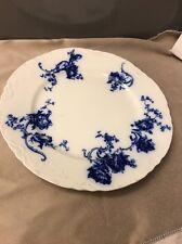 Johnson Brothers NEAPOLITAN ROYAL Semi-Porcelain FLOW BLUE Circa 1800's England