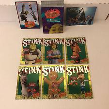 SHREK THE THIRD Inkworks Complete 72 Card Set w/ STINK SET, PROMO H2006 & S3-NY