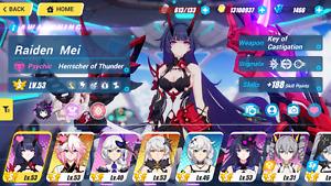 Honkai Impact 3rd [GLOBAL/NA]Herrscher of the Thunder +KOC Herrscher Void + KOV