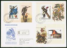 Mayfairstamps Central African Republic 1985 Birds Souvenir Sheets Combo First Da