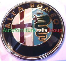 LOGO STEMMA FREGIO ANTERIORE 80 MM CON PERNO CENTRALE ALFA ROMEO 147 00> 2000>