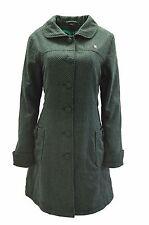 Nuevo Fenchurch abrigo señora de transición chaqueta Fen l gabardina negro verde talla L