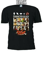 Street Fighter Characters Select Final Fight Men Women Unisex T-shirt 992