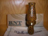 RNT Rich-N-Tone Lil Richie Becote Wood Mallard Duck Call Special Order Custom