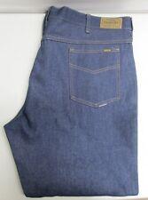 Vintage Genuine Sears Roebucks Western Wear Dark Blue Denim Jeans 46 x 30 NOS
