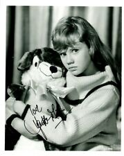 Cute Young HAYLEY MILLS In-person Signed Photo