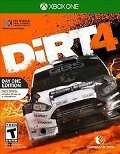Dirt 4: Day One Edition (Microsoft Xbox One, 2017) EXCELLENT+