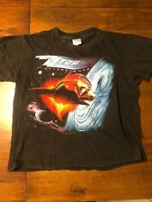 Vintage Original Zz Top Afterburner 1986 Concert Tour Band T-Shirt Size Small
