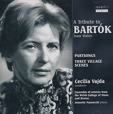 Bela Bartok : A Tribute to Bartok from Wales CD (2015) ***NEW***