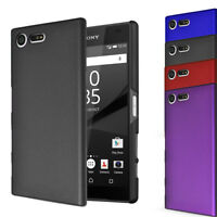 For Sony Xperia XZ1 Compact - Hybrid Hard Case Slim Thin Clip On Cover & Screen
