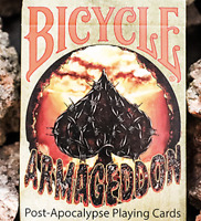 Bicycle Armageddon Post-Apocalypse Playing Cards - LIMITED - SAVE $2!