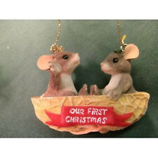 Charming Tails - Our First Christmas Together Ornament - Retired