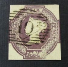 nystamps Great Britain Stamp # SG61 Used £4000