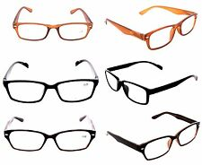 NEW MEN OPTICAL READING GLASSES CLOSEOUT LOT 3 CLEARANCE DEAL +2.25