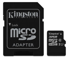 32GB Kingston micro SD HC Memory Card For Sony Xperia Miro Mobile Phone