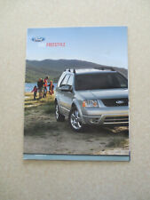 2007 Ford Freestyle advertising booklet