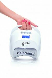 GELISH 18G NAIL LAMP - Unplugged - Rechargeable LED Light - BNIB