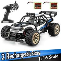 Distianert 1: 16 Scale Electric 2.4GHZ RC Car Off Road Vehicle Monster Truck