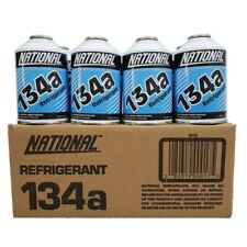 R134a National Auto A/C Air Conditioning Refrigerant Freon Gas (12) 12oz Can USA